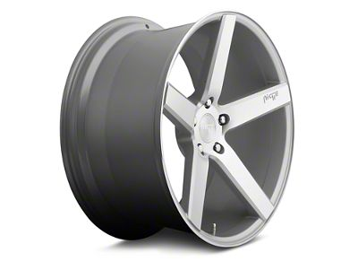 Niche Milan Silver Machined Wheel - 19x8.5 (05-14 All, Excluding 13-14 GT500)