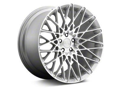 Niche Citrine Silver Machined Wheel - 19x8.5 (05-14 All, Excluding 13-14 GT500)