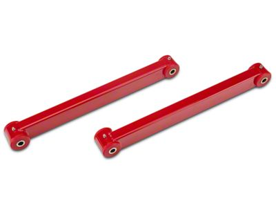 BMR Rear Lower Control Arms - Poly Bushings - Red (05-14 All)