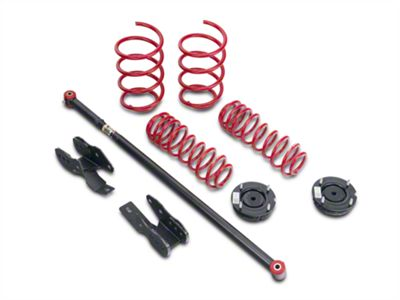 BMR Lowering Spring Package - Black Hammertone (05-10 GT, V6)