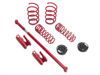 BMR Lowering Spring Package - Red (05-10 GT, V6)