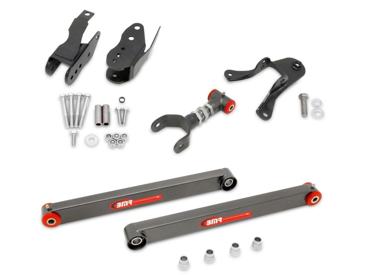 BMR Level 3 Rear Control Arm Package - Hammertone (05-10 All)