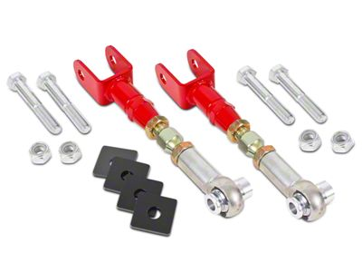 BMR Adjustable Rear Toe Links - Red (15-19 All)