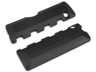 Ford Performance Coil Covers w/ Powered By Ford Logo - Black (11-17 GT; 12-13 BOSS 302; 15-19 GT350)
