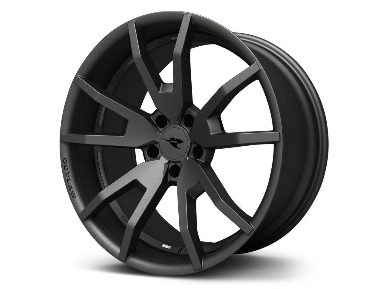 CDC Outlaw Gunsmoke Dark Gray Satin Wheel - 20x9 (15-17 All)
