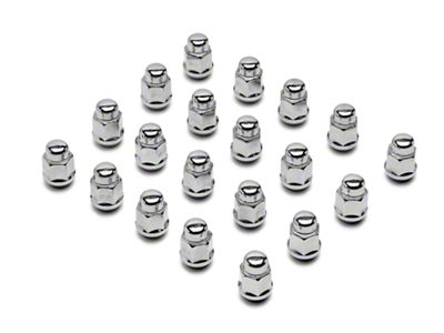 Chrome Acorn Lug Nut Kit - 3/4 in. (79-14 All)