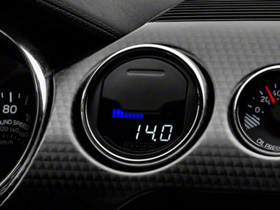 Raxiom Vent Integrated Boost Gauge w/o Vent Housing (15-19 All)