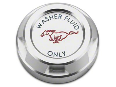 Scott Drake Washer Reservoir Cap - Running Pony Logo (15-19 GT, EcoBoost, V6)