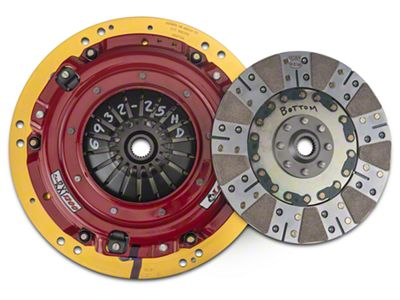 McLeod RXT Twin Disc 1200HP Clutch (11-17 GT; 12-13 BOSS 302)