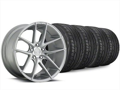 Niche Targa Matte Silver Wheel & NITTO NT555 G2 Tire Kit - 20x8.5 (15-19 All)