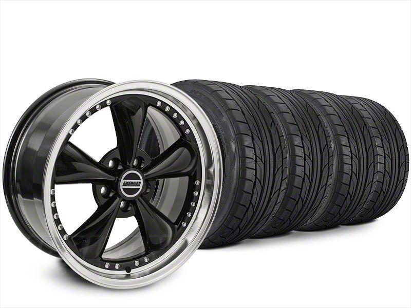 Bullitt Motorsport Black Wheel & NITTO NT555 G2 Tire Kit - 20x8.5 (15-19 EcoBoost, V6)