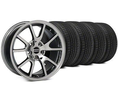 FR500 Style Chrome Wheel & Michelin Pilot Sport A/S 3+ Tire Kit - 20x8.5 (15-19 All)