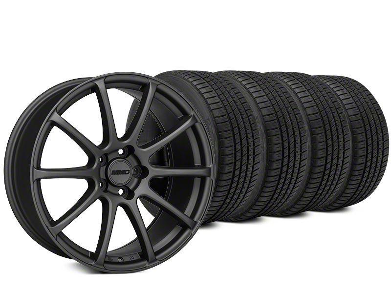 MMD Axim Charcoal Wheel & Michelin Pilot Sport A/S 3+ Tire Kit - 20x8.5 (15-19 All)