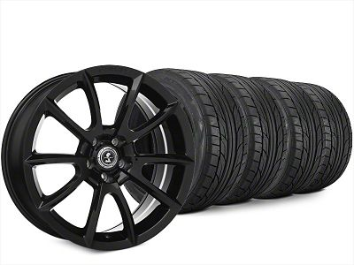 Super Snake Style Black Wheel & NITTO NT555 G2 Tire Kit - 20x9 (15-19 All)