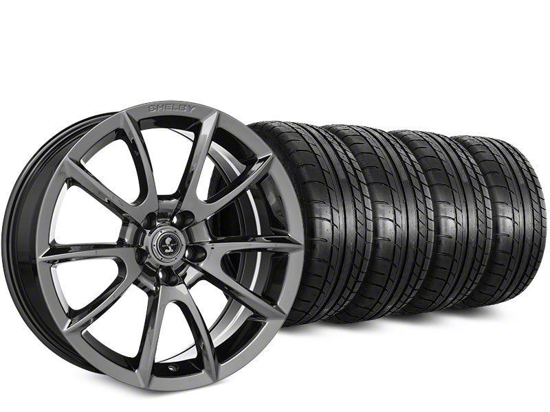 Super Snake Style Chrome Wheel & Mickey Thompson Street Comp Tire Kit - 19x8.5 (15-19 GT, EcoBoost, V6)