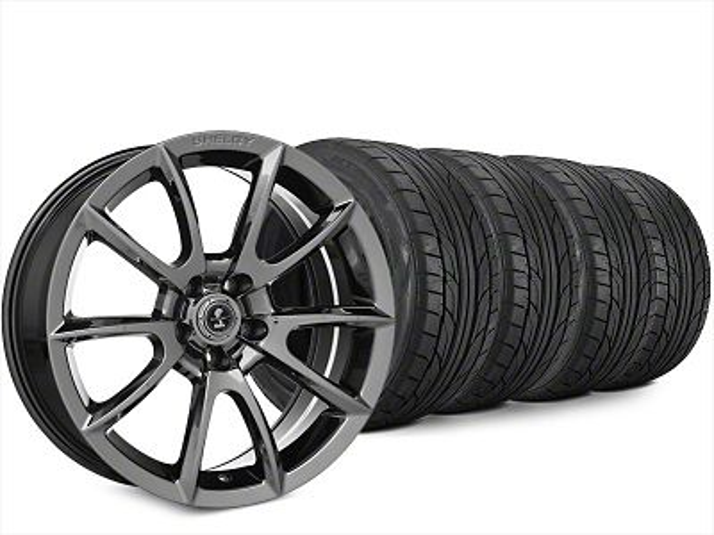 Super Snake Style Chrome Wheel & NITTO NT555 G2 Tire Kit - 20x9 (15-19 All)