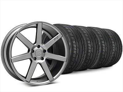 Niche Verona Anthracite Wheel & NITTO NT555 G2 Tire Kit - 20x9 (15-19 All)