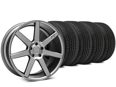 Niche Verona Anthracite Wheel & Michelin Pilot Sport A/S 3+ Tire Kit - 20x9 (15-19 All)