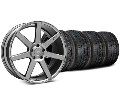 Niche Verona Anthracite Wheel & NITTO INVO Tire Kit - 20x9 (15-19 GT, EcoBoost, V6)