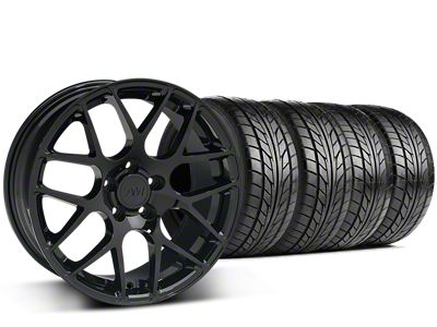AMR Black Wheel & NITTO G2 Tire Kit - 18x9 (99-04 All)
