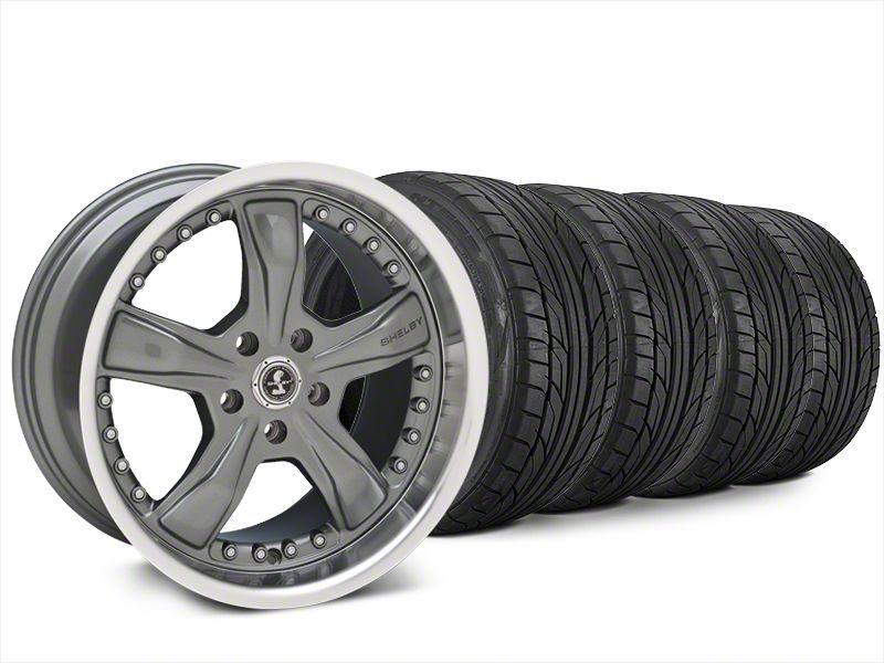 Shelby Razor Gunmetal Wheel & NITTO NT555 G2 Tire Kit - 20x9 (15-19 All)