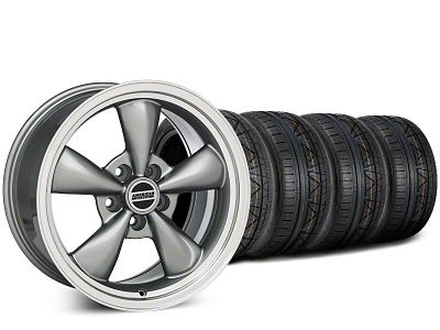 Bullitt Anthracite Wheel & NITTO INVO Tire Kit - 20x8.5 (15-19 EcoBoost, V6)