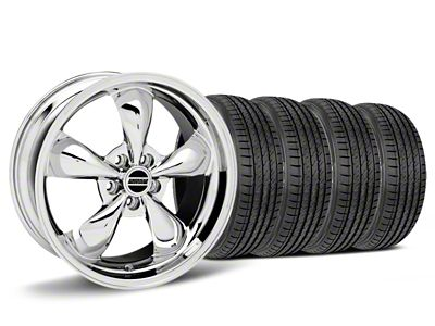 Bullitt Chrome Wheel & Sumitomo HTR Z III Tire Kit - 19x8.5 (15-19 EcoBoost, V6)