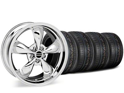 Bullitt Chrome Wheel & NITTO INVO Tire Kit - 19x8.5 (15-19 EcoBoost, V6)