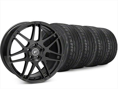Forgestar F14 Piano Black Wheel & NITTO NT555 G2 Tire Kit - 20x9 (15-19 All)