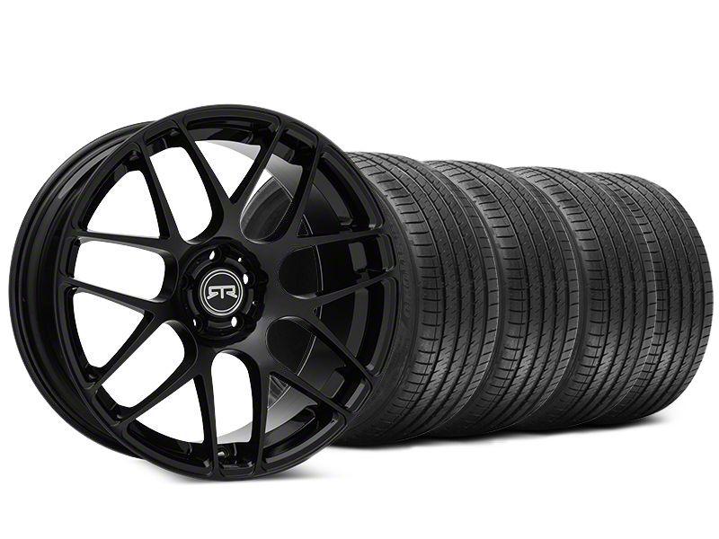 RTR Black Wheel & Sumitomo HTR Z III Tire Kit - 20x9 (15-19 GT, EcoBoost, V6)