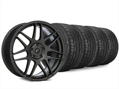 Forgestar F14 Gunmetal Wheel & NITTO NT555 G2 Tire Kit - 20x9.5 (15-19 All)