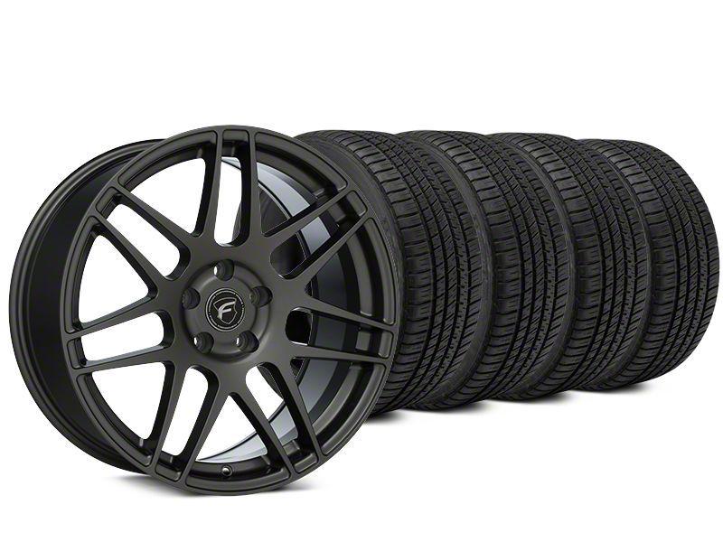 Forgestar F14 Gunmetal Wheel & Michelin Pilot Sport A/S 3+ Tire Kit - 20x9.5 (15-19 All)