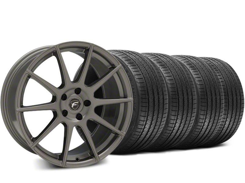 Forgestar CF10 Gunmetal Wheel & Sumitomo HTR Z III Tire Kit - 19x9.5 (15-19 GT, EcoBoost, V6)