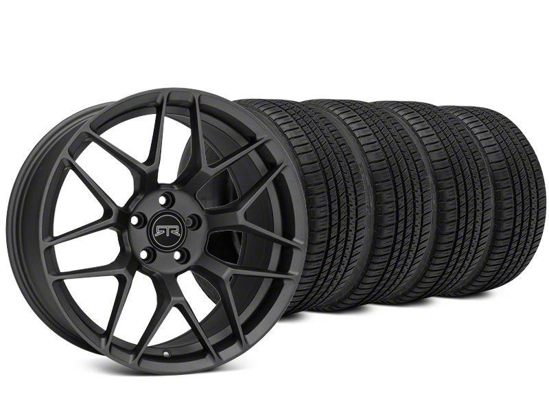 RTR Tech 7 Charcoal Wheel & Michelin Pilot Sport A/S 3+ Tire Kit - 20x9.5 (15-19 All)