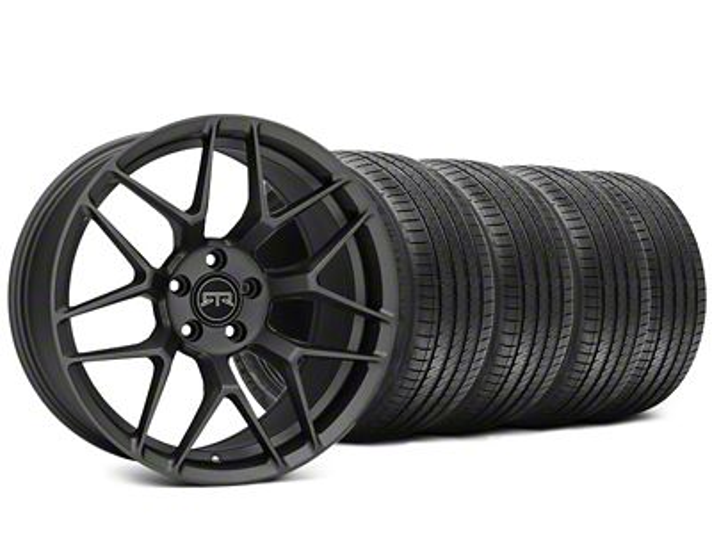 RTR Tech 7 Charcoal Wheel & Sumitomo HTR Z III Tire Kit - 20x9.5 (15-19 GT, EcoBoost, V6)