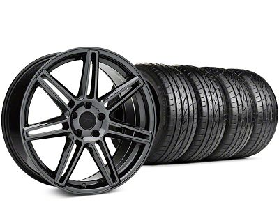 Niche Lucerne Black Chrome Wheel & Sumitomo HTR Z III Tire Kit - 20x9 (15-18 GT, EcoBoost, V6)