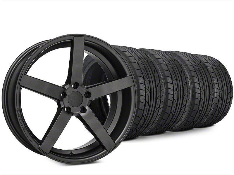 Rovos Durban Satin Gunmetal & NITTO NT555 G2 Tire Kit - 20x8.5 (15-19 All)