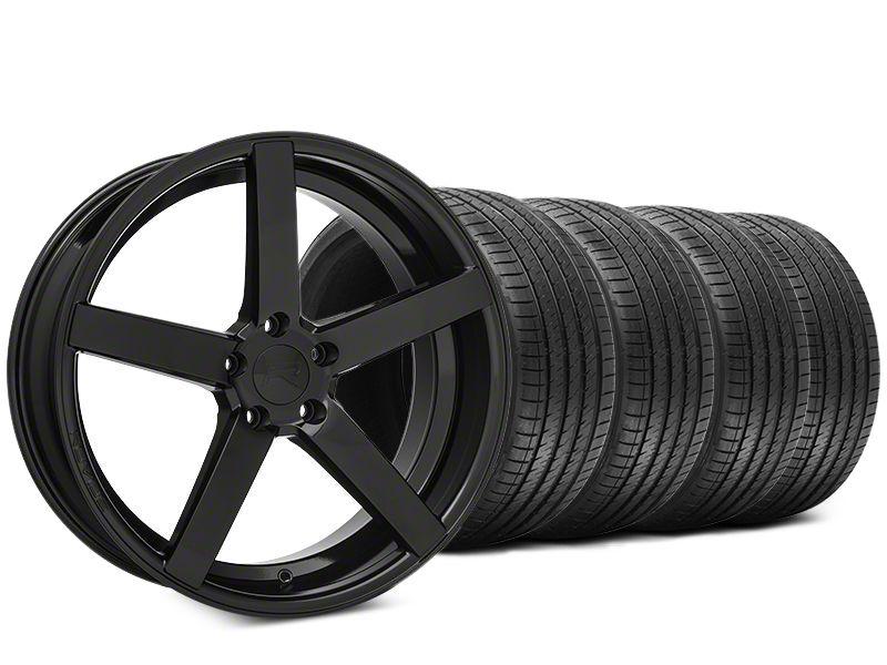 Rovos Durban Gloss Black & Sumitomo HTR Z III Tire Kit - 20x8.5 (15-19 GT, EcoBoost, V6)