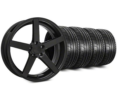 Rovos Durban Gloss Black & Mickey Thompson Street Comp Tire Kit - 20x8.5 (15-19 GT, EcoBoost, V6)