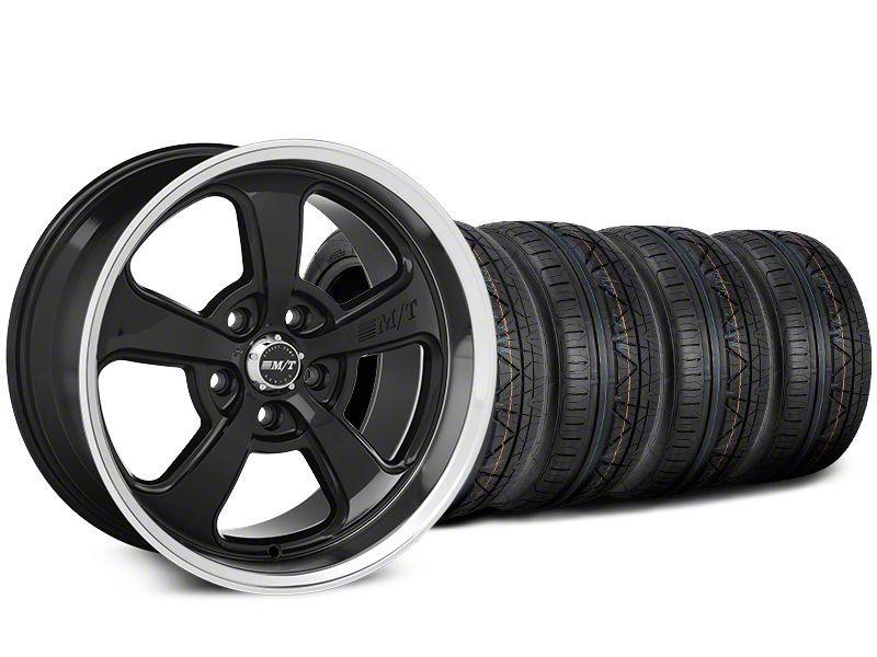 Mickey Thompson Street Comp SC-5 Black Wheel & NITTO INVO Tire Kit - 20x9 (15-18 GT, EcoBoost, V6)
