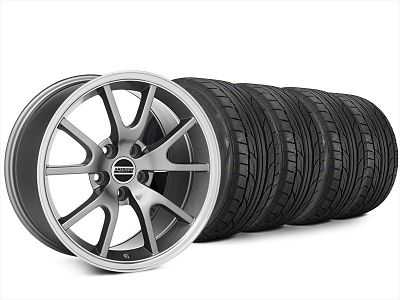 Staggered FR500 Style Anthracite Wheel & NITTO NT555 G2 Tire Kit - 20x8.5/10 (15-19 All)
