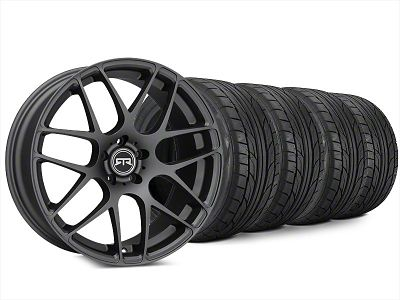 Staggered RTR Charcoal Wheel & NITTO NT555 G2 Tire Kit - 20x9/10 (15-19 All)