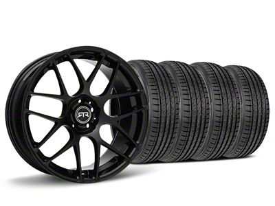 Staggered RTR Black Wheel & Sumitomo HTR Z III Tire Kit - 19x8.5 (15-19 GT, EcoBoost, V6)