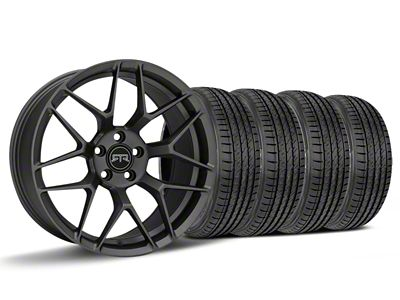 Staggered RTR Tech 7 Charcoal Wheel & Sumitomo HTR Z III Tire Kit - 19x9.5 (15-19 GT, EcoBoost, V6)