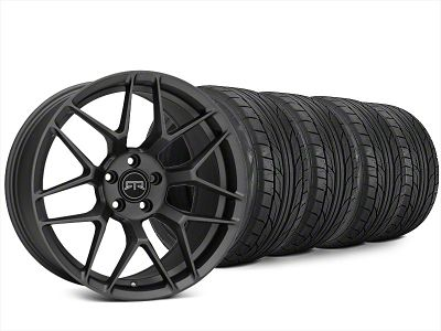 Staggered RTR Tech 7 Charcoal Wheel & NITTO NT555 G2 Tire Kit - 20x9.5/10.5 (15-19 All)