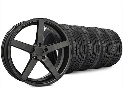 Staggered Rovos Durban Satin Gunmetal & NITTO NT555 G2 Tire Kit - 20x8.5/10 (15-19 All)
