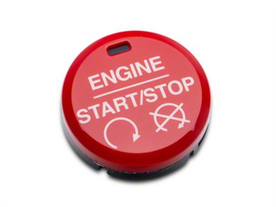 Ford Performance GT350/GT350R Style Red Push Start/Stop Button (15-17 All)