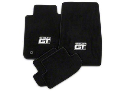 Lloyd Front & Rear Floor Mats w/ Shelby GT Logo - Black (15-19 All)