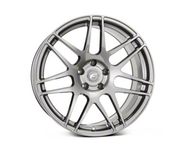 Forgestar F14 Monoblock Gunmetal Wheel - 19x11 - Rear Only (15-19 GT, GT350)