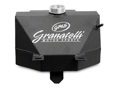 Coolant Expansion Tank w/ Overflow Catch Can - Black Wrinkle Coat (15-19 All)